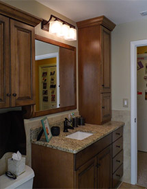 Bathroom Cabinets | Wood Furniture, Cabinetry | Pinellas ...